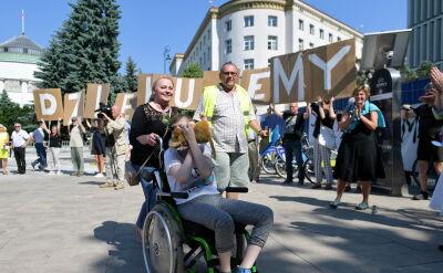 """Niepełnosprawni """"otworzyli nam wszystkim oczy"""""""