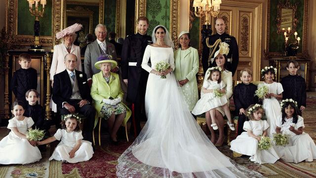 Pierwsze oficjalne zdjęcia z książęcego ślubu