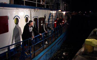 Rybacy ze statku Miętus II wrócili do Polski