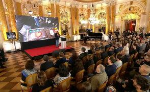 Jurek Owsiak rozpoczął konferencję podsumowującą 25. finał WOŚP