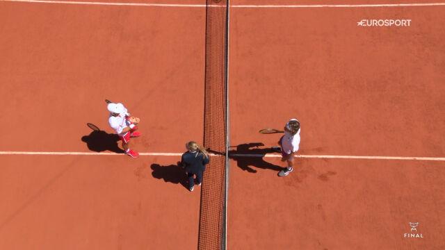 Skrót meczu Djoković – Tsitsipas w finale French Open