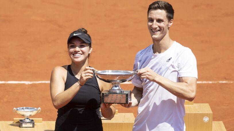 Pierwszy finał Roland Garros rozstrzygnięty. Krawczyk i Salisbury triumfują