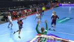 Błąd Aalborga przy wyprowadzeniu kontry, Barca z kolejnym golem
