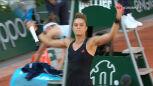 Sakkari wygrała 2. seta w starciu z Krejcikovą w półfinale French Open
