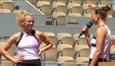 Krejcikova i Siniakova po triumfie w grze podwójnej we French Open