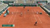 Wiesnina i Karacew wygrali 1. seta w finale gry mieszanej we French Open