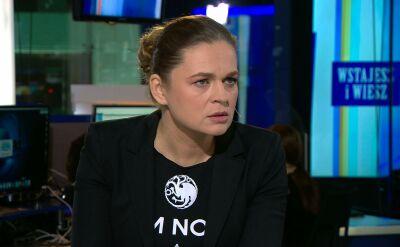 """Konsekwencje projektu """"Zatrzymaj aborcję"""". Barbara Nowacka we """"Wstajesz i wiesz"""" w TVN24"""