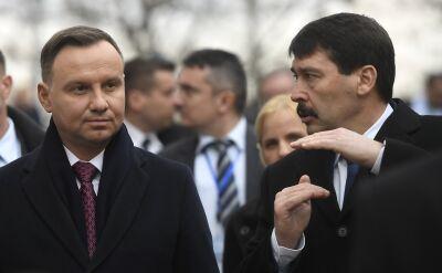 Spotkanie prezydentów Polski i Węgier w Budapeszcie