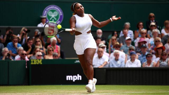 Serena pokazała moc. W 59 minut zmiotła rywalkę