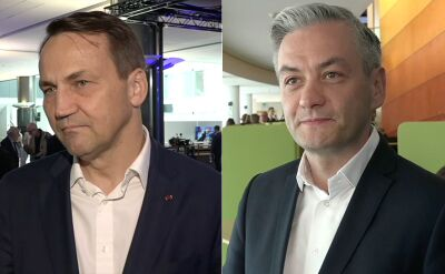 Sikorski i Biedroń o głosowaniu nad kandydaturąSzydło