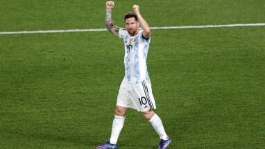 Wygrana Argentyny i rekord Messiego. Brazylia w końcu zatrzymana