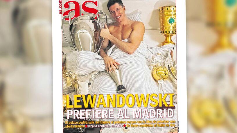 """""""Lewandowski woli Madryt"""". Wraca temat transferu do Realu"""