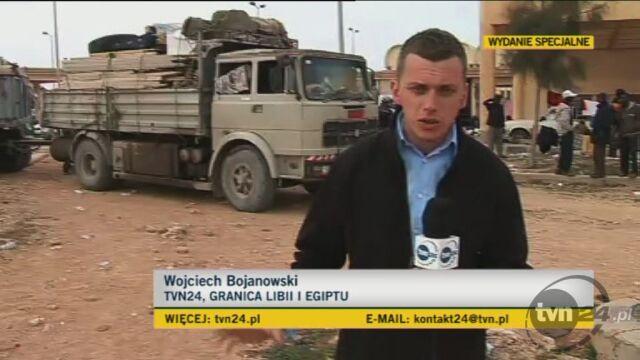 Jak wygląda sytuacja na pograniczu libijsko-egipskim? Relacja specjalnego wysłannika TVN24