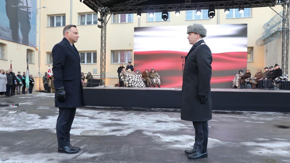 meet 8f991 099f7 Dziękujemy za wolną Polskę - powiedział prezydent Andrzej Duda, zwracając  się do Żołnierzy Niezłomnych podczas czwartkowych uroczystości w dawnym  więzieniu ...