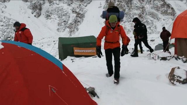 Urubko opuścił bazę pod K2