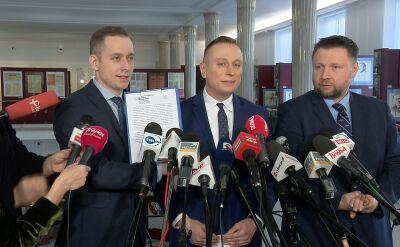 PO zapowiedziała złożenie zawiadomienia w sprawie kierowcy Macierewicza