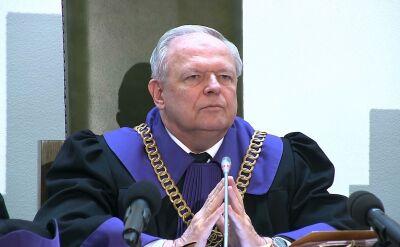 Prezes Izby Karnej Sądu Najwyższego przechodzi w stan spoczynku