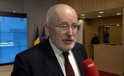 Timmermans: każdy polski sędzia jest także sędzią europejskim