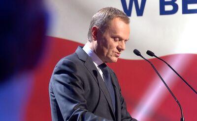 Tusk: do wyborów powinna pójść wielka obywatelska koalicja
