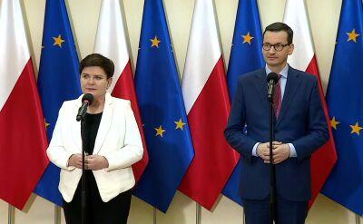 Premier Morawiecki o okrągłym stole w sprawie edukacji