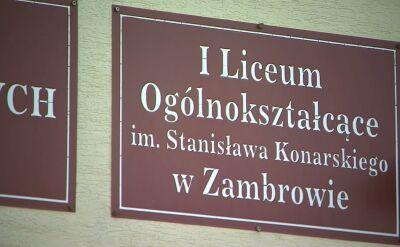Dyrektor szkoły w Zambrowie: zajęcia odbywają się zgodnie z planem