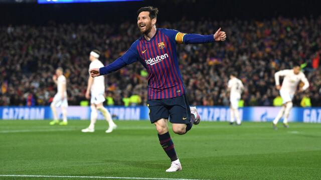 Barcelona szybko załatwiła sprawę awansu. Messi goni Ronaldo