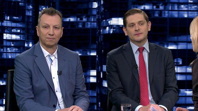 """Andrzej Halicki i Bartosz Kownacki byli gośćmi """"Kropki nad i"""""""