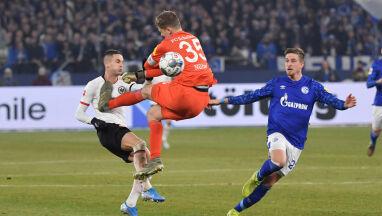 Brutalne wejście bramkarza w lidze niemieckiej.