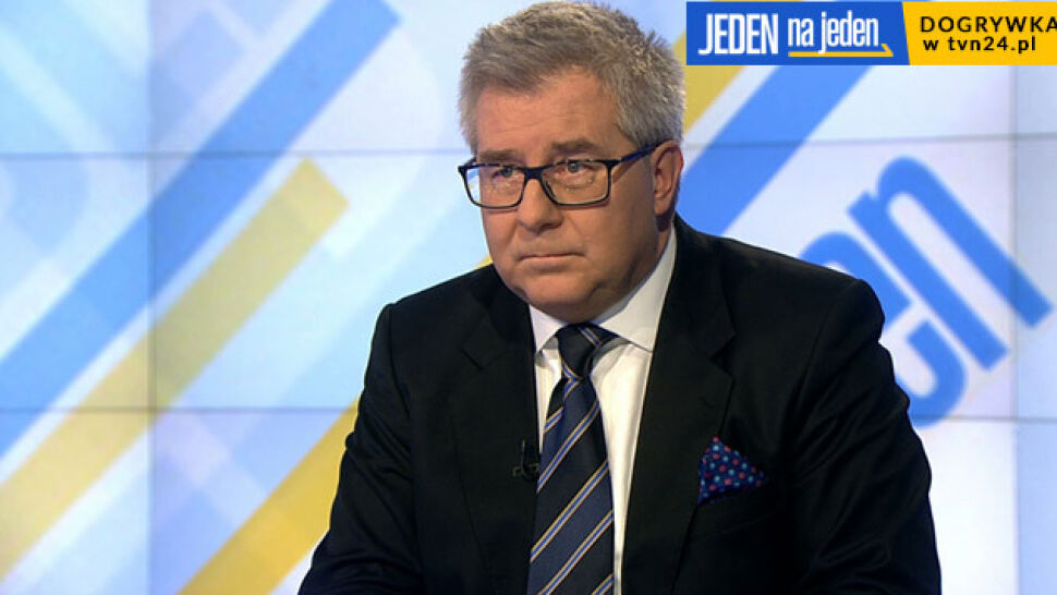 """Czarnecki o wątpliwościach Frasyniuka w sprawie Morawieckiego. """"Władku, coś ci przypomnę"""""""