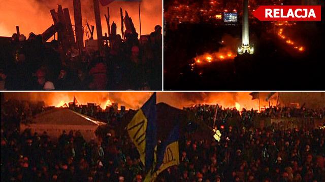 Jaceniuk: Szturm na Majdan odwołany. Ogłosiliśmy rozejm
