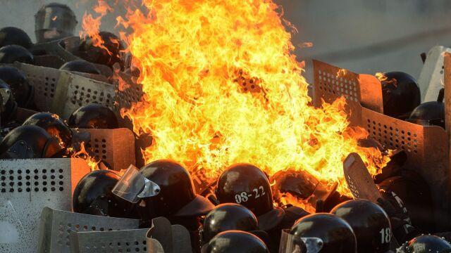 Jakub Parusiński z Kiev Post o sytuacji w Kijowie