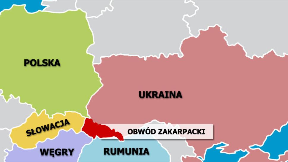 """Obwód zakarpacki już """"wolny"""". Wypowiedział posłuszeństwo """"reżimowi Janukowycza"""""""