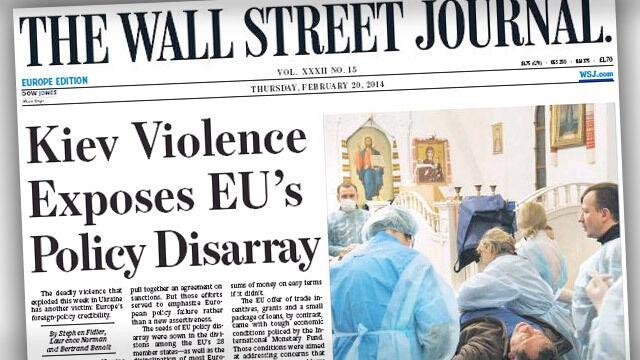 Zachodnie gazety o sytuacji na Ukrainie