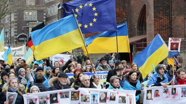 Krew na ulicach Kijowa