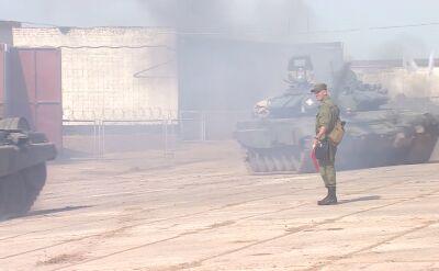 Alarm w bazie rosyjskiej brygady zmechanizowanej