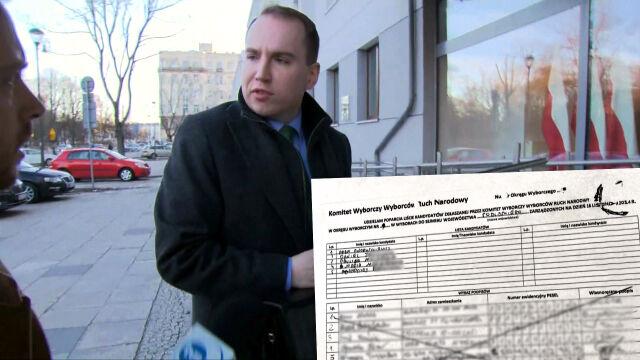 Prokuratorzy pobrali próbki pisma Andruszkiewicza. Bada je biegły