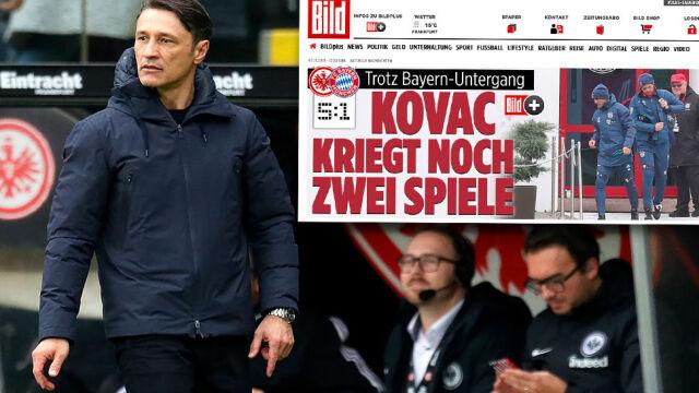 """""""Bild"""": Trener Bayernu ma dostać kolejną szansę. """"Jeszcze dwa mecze"""""""