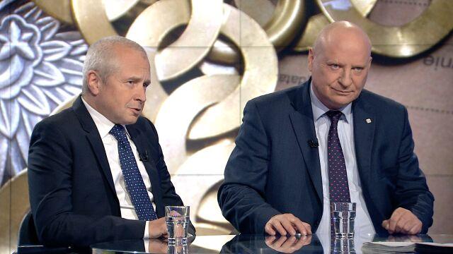 """Prokurator Krzysztof Parchimowicz i mecenas Jacek Dubois w """"Faktach po Faktach"""""""