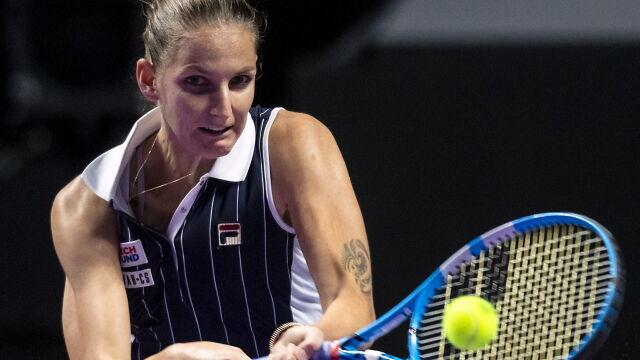 WTA Finals. Pliskova uzupełniła grono półfinalistek