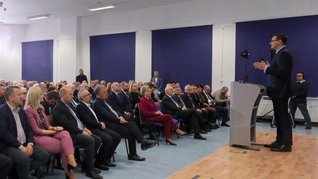 Morawiecki: zbudujemy co najmniej sto obwodnic