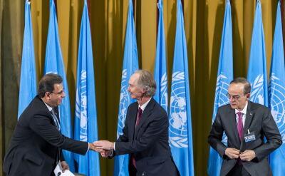 Posiedzenie syryjskiego Komitetu Konstytucyjnego w Genewie