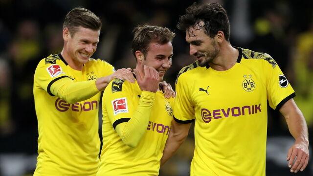 Szalony mecz w Dortmundzie. Borussia uniknęła blamażu