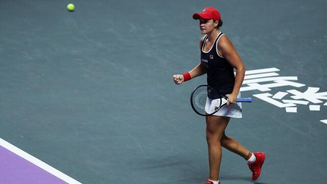 Królowa Barty. Liderka rankingu wygrała WTA Finals