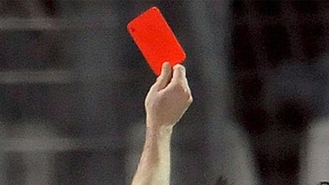 Trzy sekundy meczu i... czerwona kartka