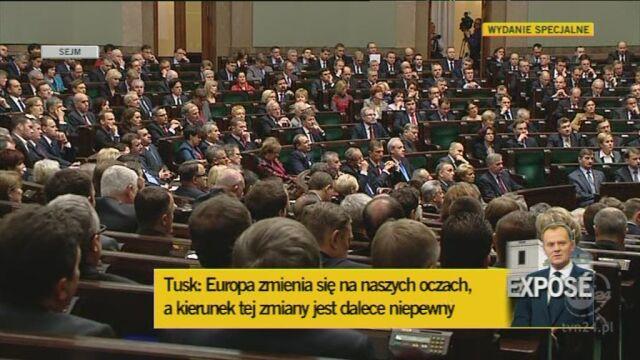 Tusk o pozycji Polski w Europie