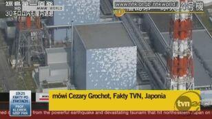 Wysłannik Faktów TVN, Cezary Grochot, opisuje sytuację w Japonii