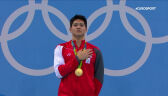 Schooling ze złotym medalem igrzysk olimpijskich 2016 w Rio de Janeiro