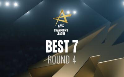 Najlepsza siódemka 4. kolejki Ligi Mistrzów piłkarzy ręcznych