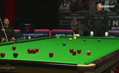 Fluke Holta w starciu z Trumpem w 3. rundzie English Open