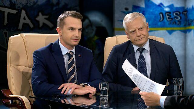 Aleksander Bobko i Adam Szłapka w Tak Jest